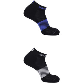 Salomon XA Socks 2 Pack night sky/black white